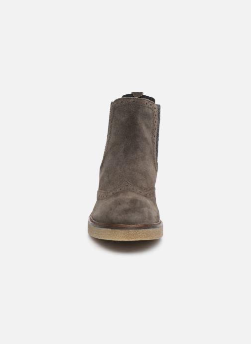 Bottines et boots Scholl Rudy C Gris vue portées chaussures