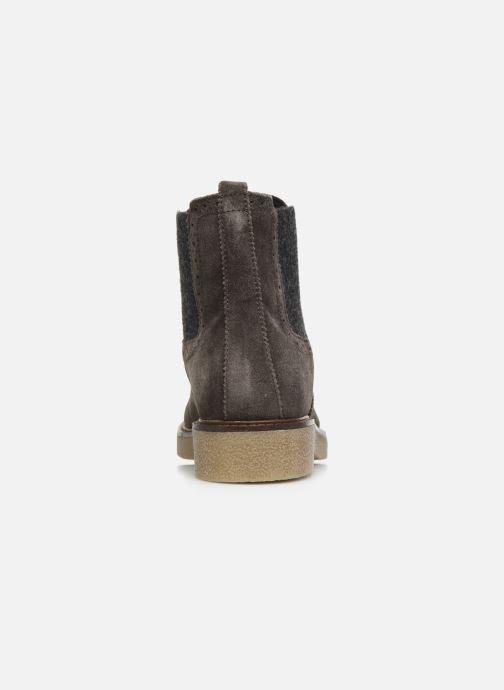 Bottines et boots Scholl Rudy C Gris vue droite
