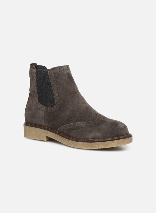 Bottines et boots Scholl Rudy C Gris vue détail/paire