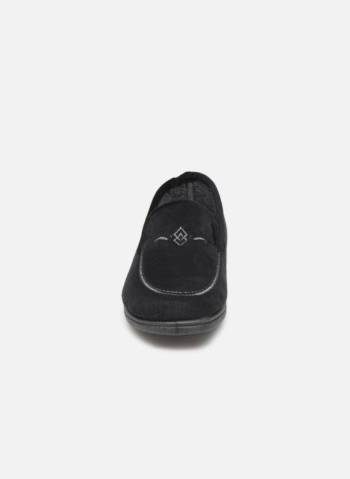 Chaussons Scholl Tiguana C Noir vue portées chaussures