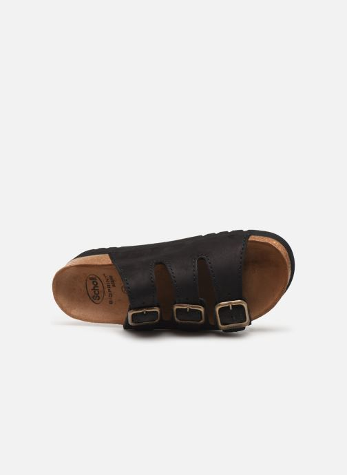 Mules & clogs Scholl Rio Ad C Black view from the left