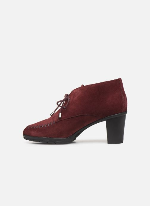 Ankle boots Scholl Issenia 2.0 C Burgundy front view