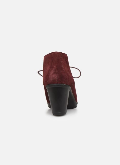 Ankle boots Scholl Issenia 2.0 C Burgundy view from the right