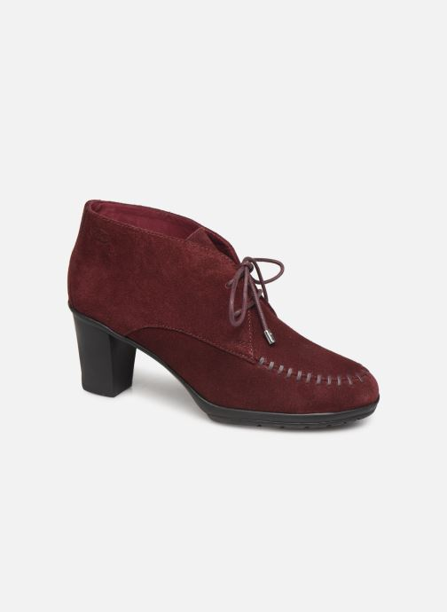 Bottines et boots Scholl Issenia 2.0 C Bordeaux vue détail/paire