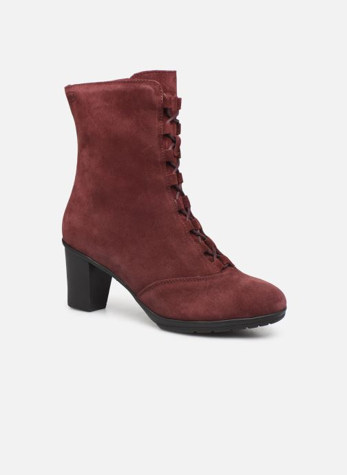 Ankle boots Scholl Mores C Burgundy detailed view/ Pair view