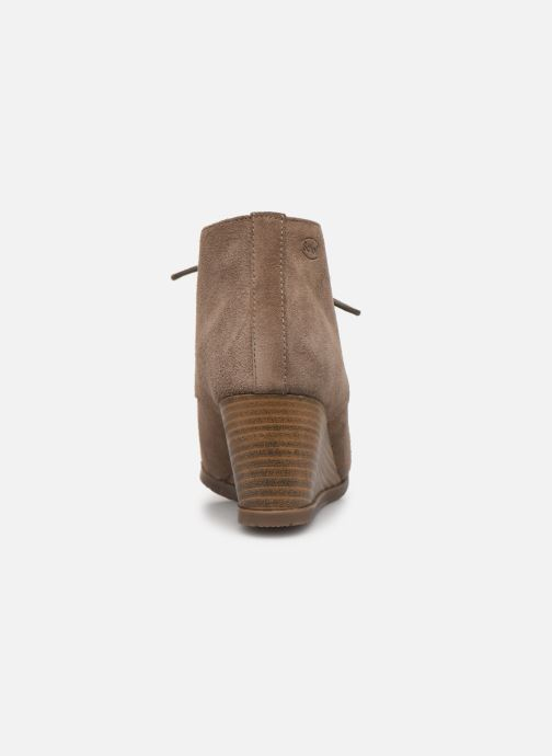 Ankle boots Scholl Griel 2.0 C Beige view from the right