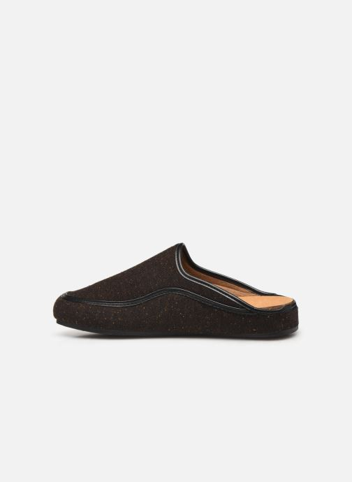Chaussons Scholl Brandy C Marron vue face