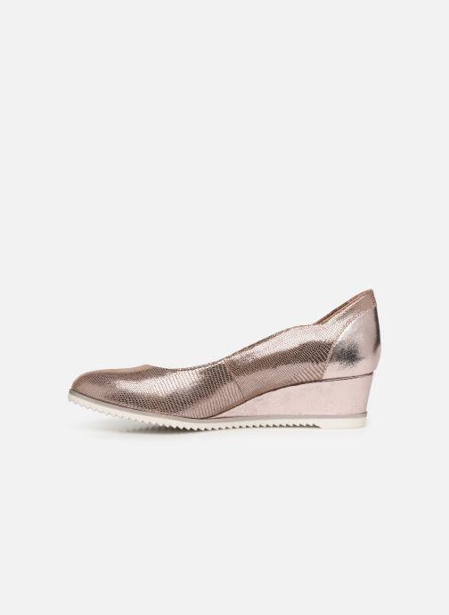 Zapatos de tacón Tamaris 22306 Rosa vista de frente