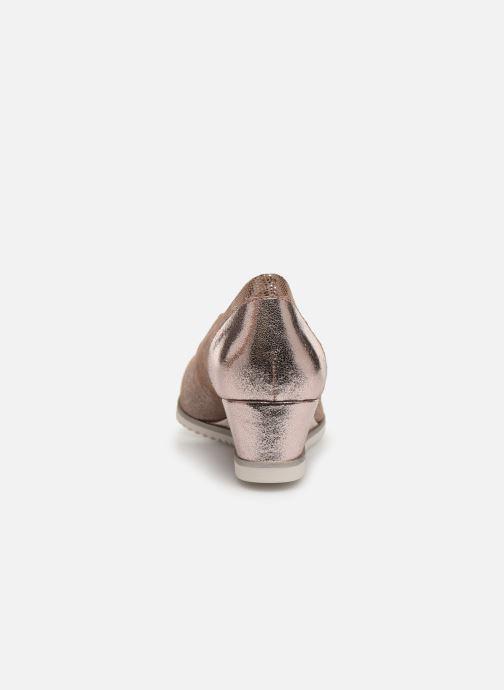 Zapatos de tacón Tamaris 22306 Rosa vista lateral derecha