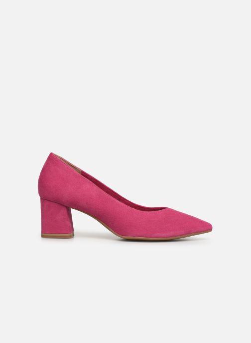 High heels Tamaris 22413 Pink back view