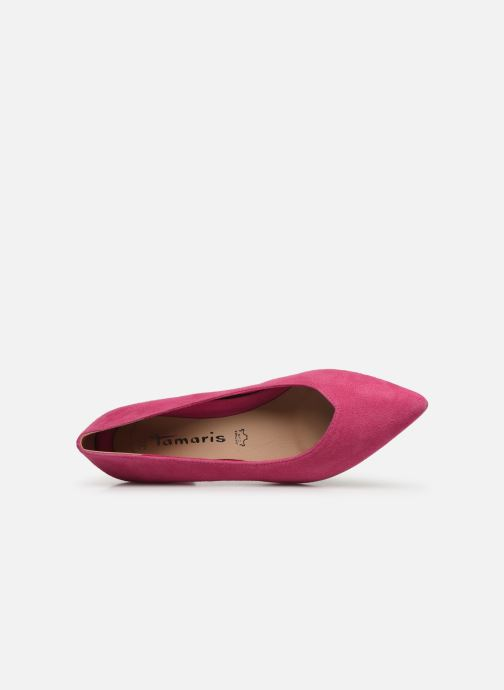 High heels Tamaris 22413 Pink view from the left