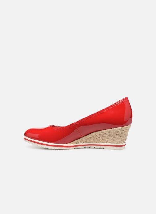 Zapatos de tacón Tamaris 22441 Rojo vista de frente