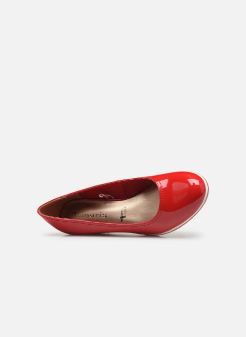Zapatos de tacón Tamaris 22441 Rojo vista lateral izquierda