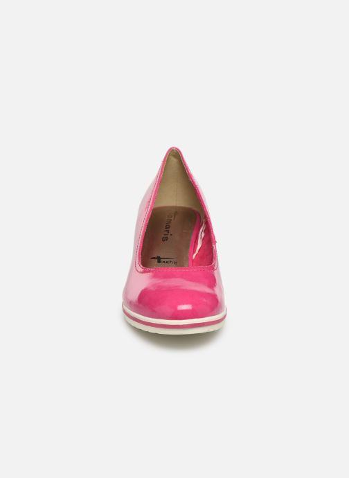 Escarpins Tamaris 22441 Rose vue portées chaussures