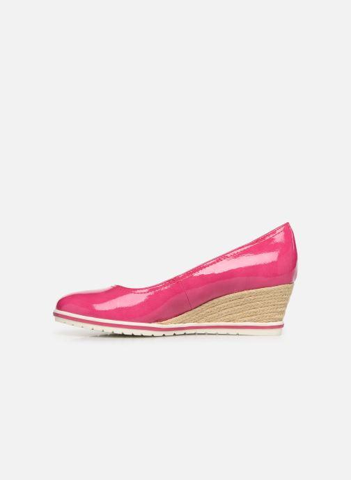 Zapatos de tacón Tamaris 22441 Rosa vista de frente