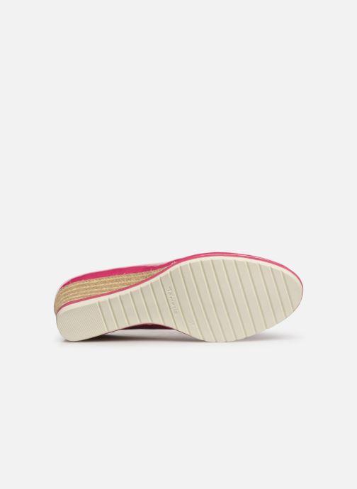 Zapatos de tacón Tamaris 22441 Rosa vista de arriba