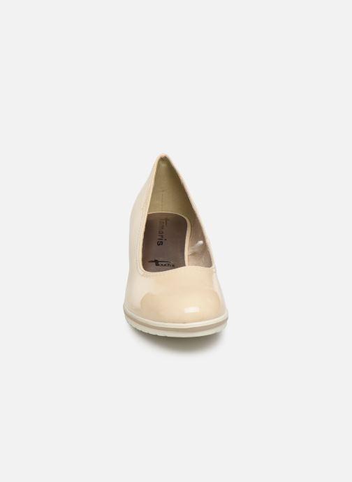 Escarpins Tamaris 22441 Beige vue portées chaussures