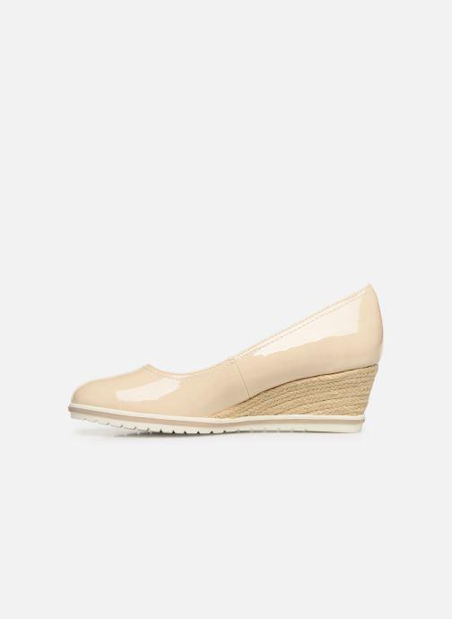 High heels Tamaris 22441 Beige front view
