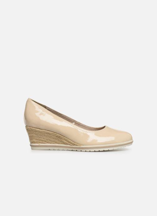 High heels Tamaris 22441 Beige back view