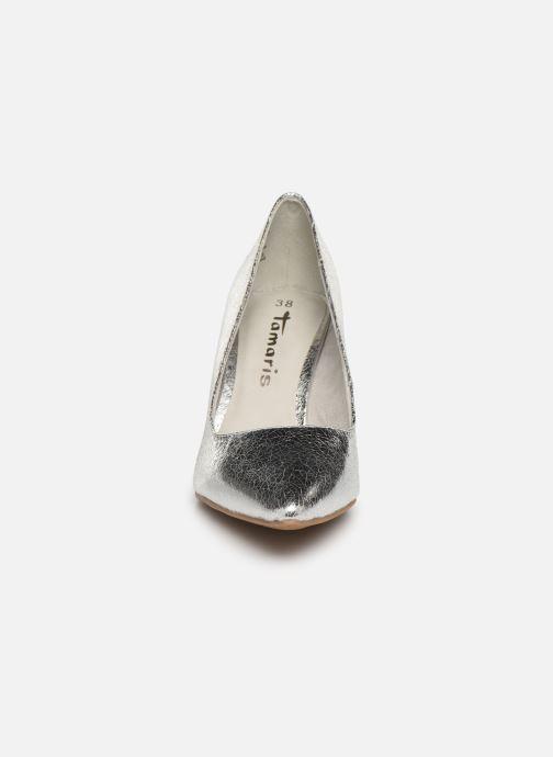Escarpins Tamaris 22447 Argent vue portées chaussures