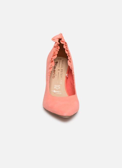 Escarpins Tamaris 22451 Orange vue portées chaussures
