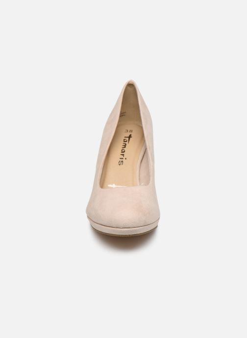 Escarpins Tamaris 22464 Beige vue portées chaussures