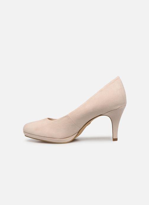 High heels Tamaris 22464 Beige front view