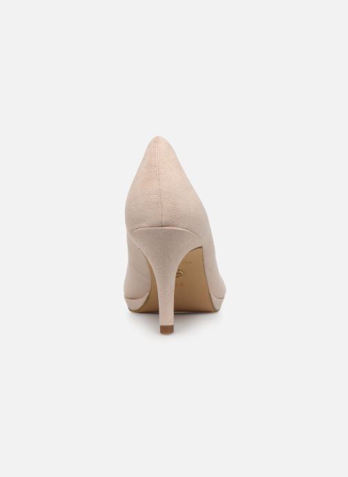 High heels Tamaris 22464 Beige view from the right