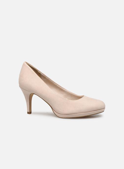 High heels Tamaris 22464 Beige back view