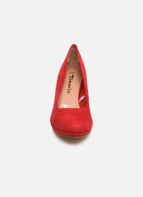 Escarpins Tamaris 22464 Rouge vue portées chaussures