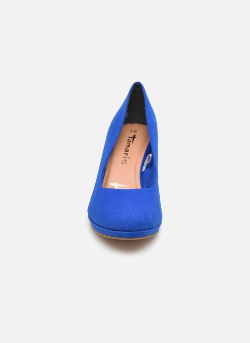 Escarpins Tamaris 22464 Bleu vue portées chaussures