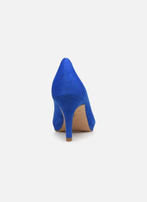 Escarpins Tamaris 22464 Bleu vue droite