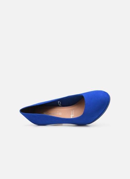 High heels Tamaris 22464 Blue view from the left