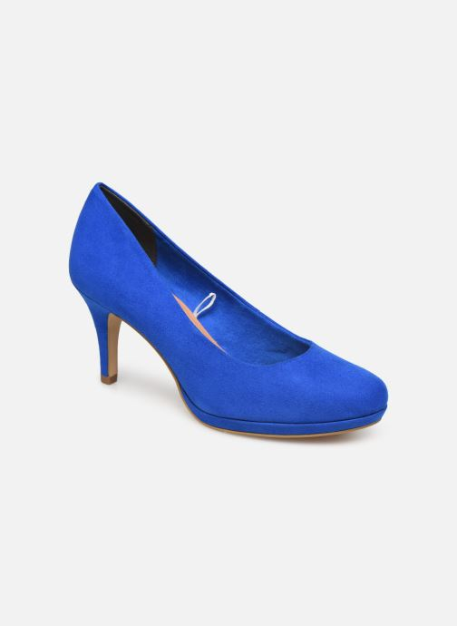 High heels Tamaris 22464 Blue detailed view/ Pair view