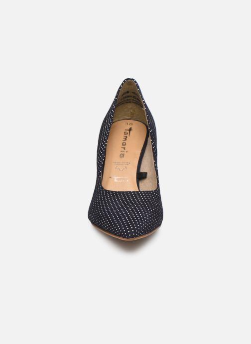 Zapatos de tacón Tamaris 22494 Azul vista del modelo