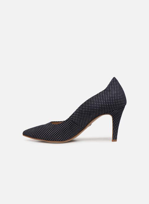 Zapatos de tacón Tamaris 22494 Azul vista de frente
