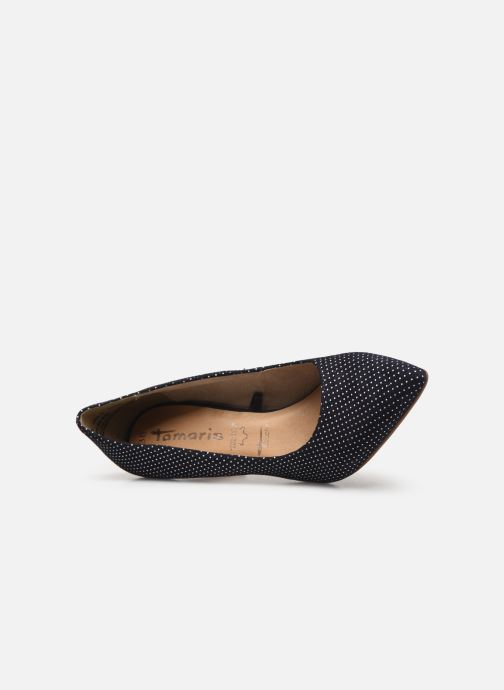 Zapatos de tacón Tamaris 22494 Azul vista lateral izquierda