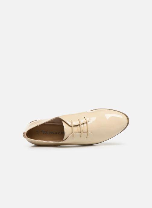 Chaussures à lacets Tamaris 23220 Blanc vue gauche