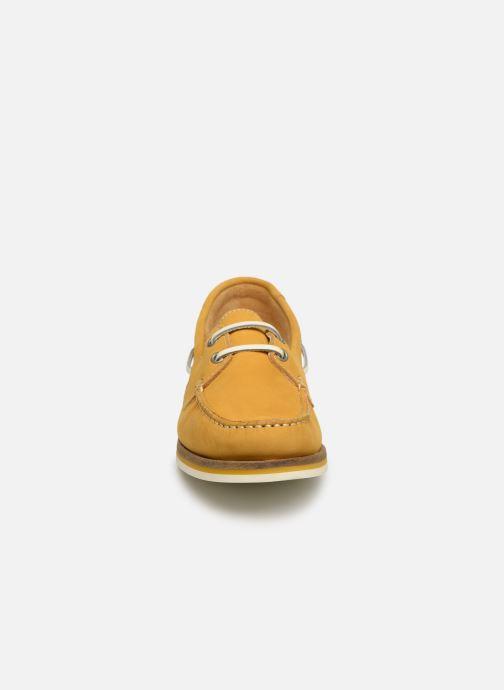 Zapatos con cordones Tamaris 23616 Amarillo vista del modelo