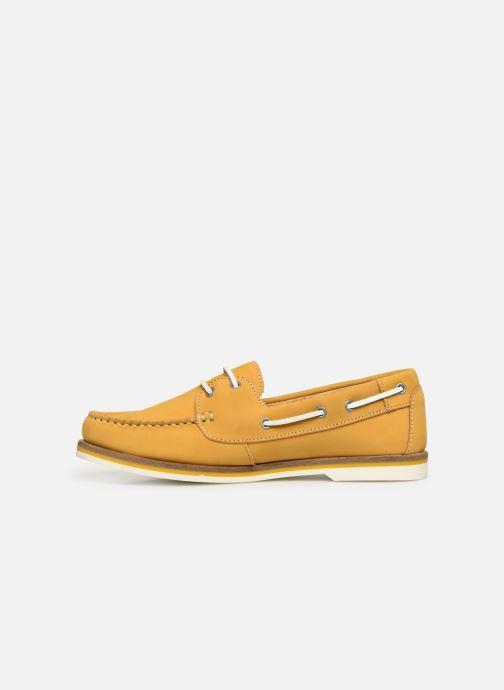 Zapatos con cordones Tamaris 23616 Amarillo vista de frente