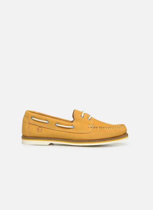 Zapatos con cordones Tamaris 23616 Amarillo vistra trasera