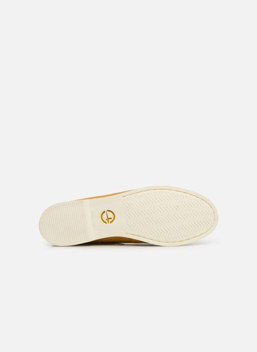 Zapatos con cordones Tamaris 23616 Amarillo vista de arriba