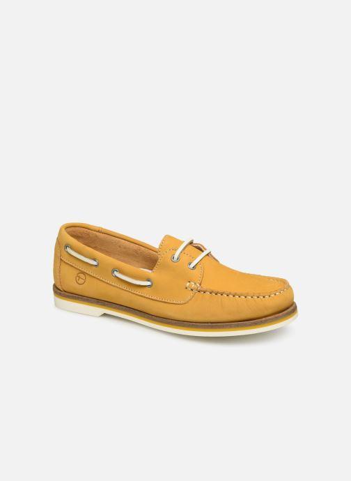 Zapatos con cordones Tamaris 23616 Amarillo vista de detalle / par