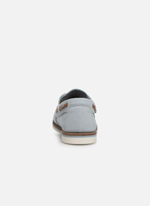 Chaussures à lacets Tamaris 23616 Bleu vue droite