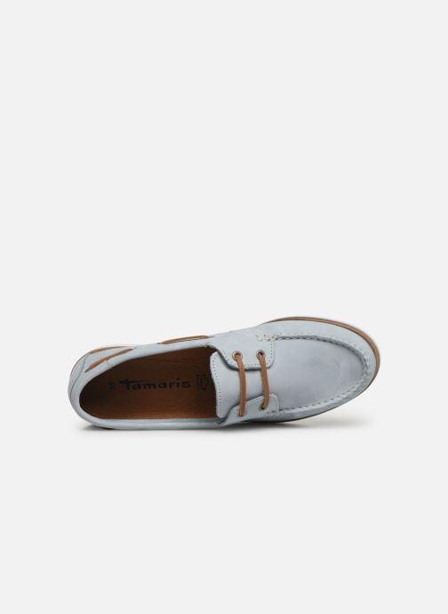Chaussures à lacets Tamaris 23616 Bleu vue gauche