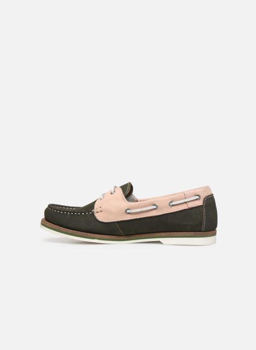Zapatos con cordones Tamaris 23616 Verde vista de frente