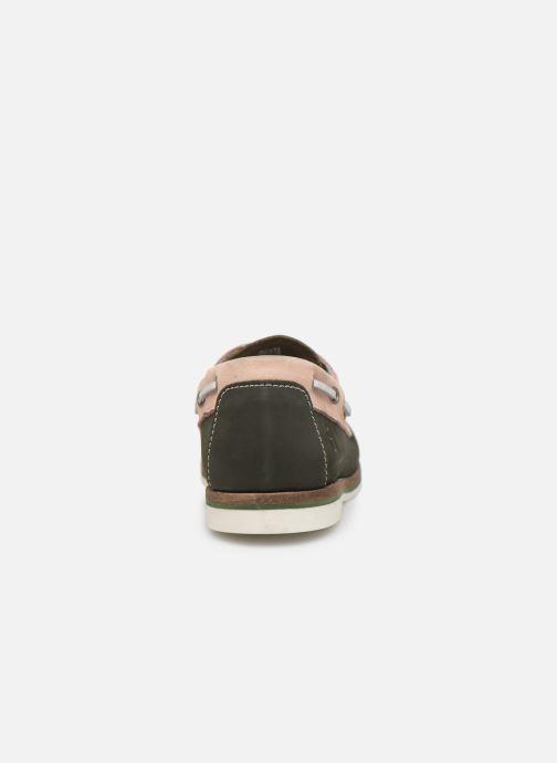 Zapatos con cordones Tamaris 23616 Verde vista lateral derecha