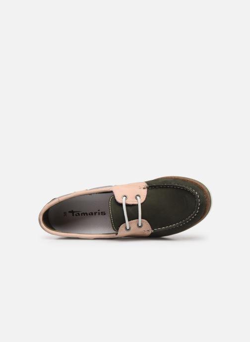 Zapatos con cordones Tamaris 23616 Verde vista lateral izquierda