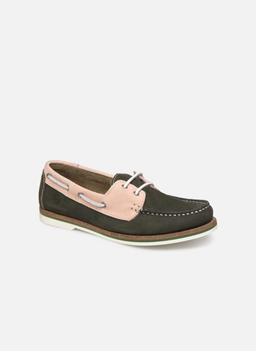 Zapatos con cordones Tamaris 23616 Verde vista de detalle / par