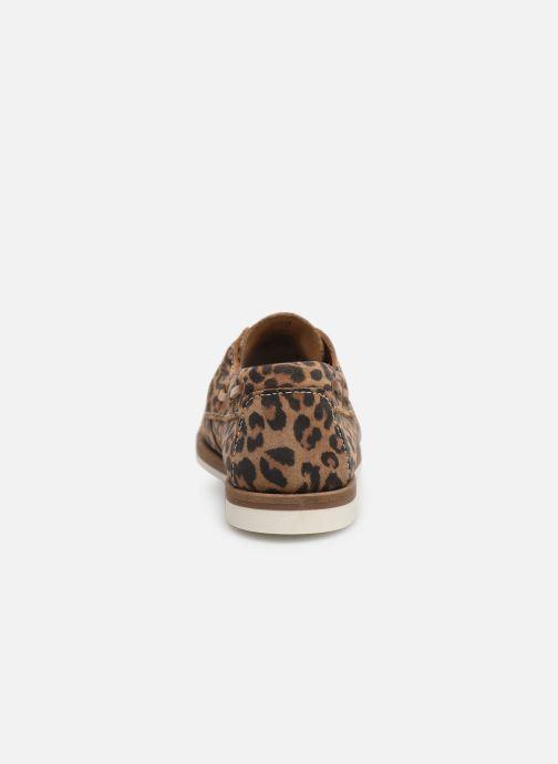 Chaussures à lacets Tamaris 23616 Marron vue droite